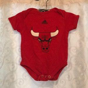 Adidas Chicago Bulls Onsie Size 3-6 Months!